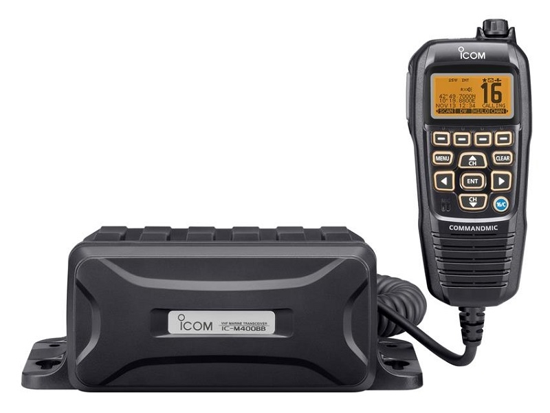 IC-M400BBE Modular VHF/DSC Marine Radio w/ GPS