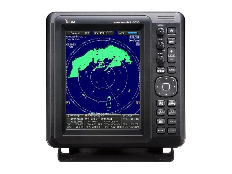 MR-1010RII – Marine Radar System with Color TFT LCD Display