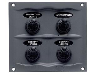 900-4WP - Splash Proof Panel - 4 Way