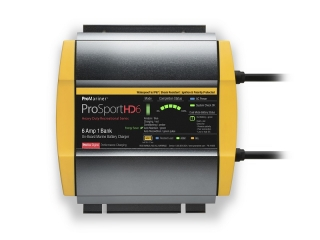 ProSportHD 6 – 12V| 6 A Waterproof Battery Charger – 1 Battery Bank